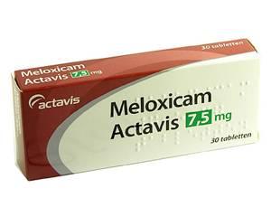 meloxicam pijnstiller